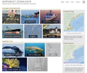 The Northeast Ocean Data Portal draws much of its data from MarineCadastre.gov. The Portal integrates these data with regional data sets to support regional-scale planning.