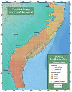 One of the maps from the Carolinian Assessment showing stratification units. Click on image to enlarge.
